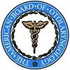 the american board of otolarynology logo