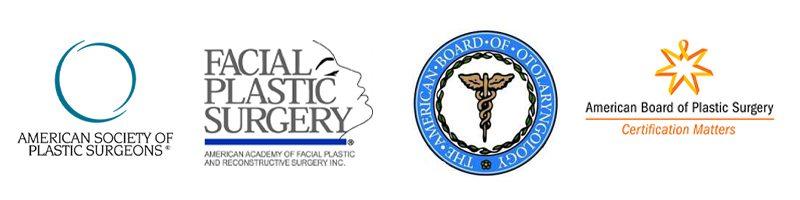 dr. pramit malhotra certification logos